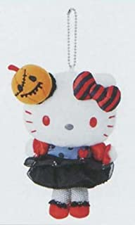 Marushin Hello Kitty Plush with Ball Chain Halloween 9.5x19x6cm 780006 from Japan