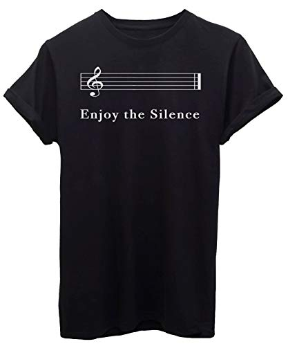 iMage T-Shirt Enjoy The Silence - Musica - by Donna-M-Nera