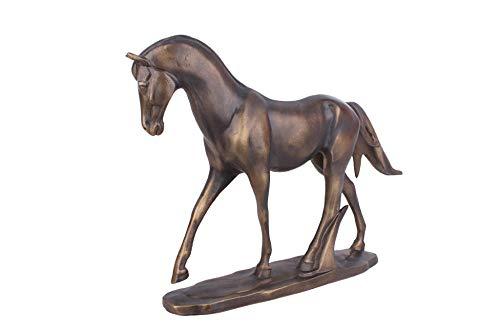 POILKJ standbeeld Sculptureresin Ambachten Brons Platte Paard Decoratie Woonkamer Tv Kast Home Decoratie Zakelijke Geschenken