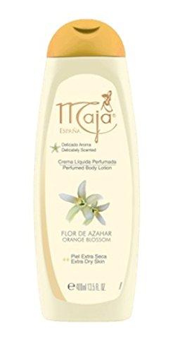 Maja Perfumed Body Lotion Extra Dry Skin 13.5 oz. Flor De Azahar/Orange Blossom by Maja