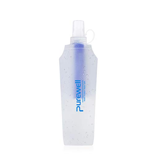 Water Bottle Filter Container BPA Free Outdoor Filtered Water Bag for Sport Camping and Hiking