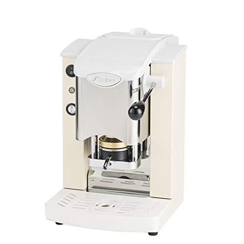 MACCHINA CAFFE A CIALDE IN CARTA ESE 44MM FABER SLOT INOX (AVORIO)
