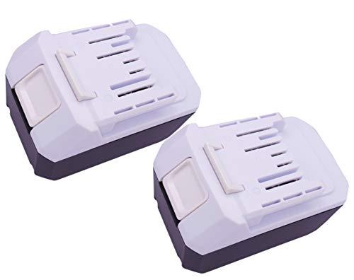 Preisvergleich Produktbild Golem-Power 2PCS 18V 4000mAh BL1820G Batteria BL1813G BL1811G BL1830G BL1840G 195608-4 Kompatibel für Makita Drill HP457D TD127D Impact Driver DF457D JV183D HP457D CL183D TD127D UR180D UH522D