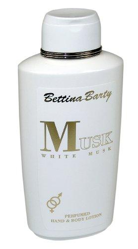 Bettina Barty White Musk Hand und Bodylotion, 500 ml