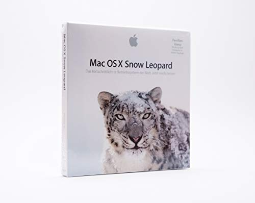 Apple Mac OS X 10.6.3 Snow Leopard auf DVD