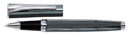 Wedo 260621312 Rollerball Wave (im Geschenketui) metallic blau/chrom