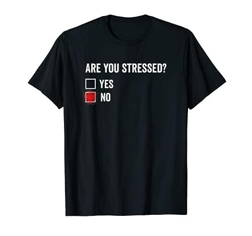 Camiseta Are You Stressed? regalos frikis Camiseta