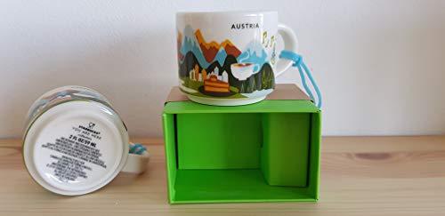 Starbucks Austria demi mug Espresso Tasse NEU in OVP Box Österreich