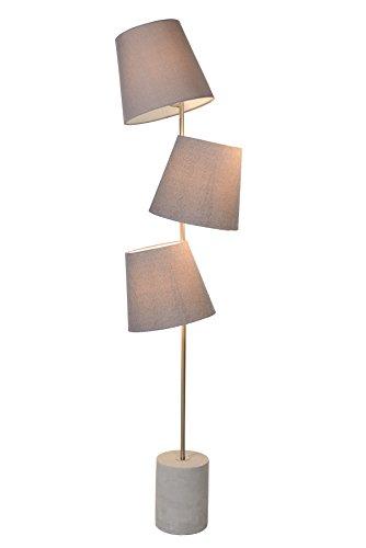 Lucide ARJAN - vloerlamp - Ø 42 cm - E14 - taupe