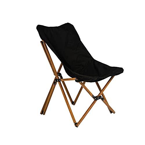 Utdoor Aluminium Alliage Imitation de Grain de Grain de Bois, Chaise de Camping, Chaise de Plage, Chaise Papillon, laissehill, Chaise Amovible Cas, Stockage Confortable