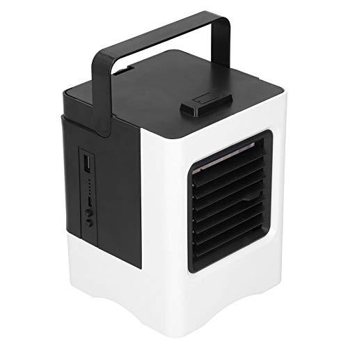 Umidificatore purificatore d'aria, condizionatore d'aria portatile umidificatore nebulizzazione ricarica USB con aria condizionata per ufficio in camera