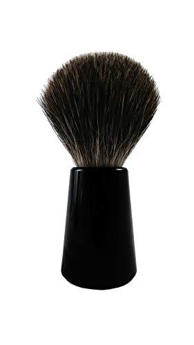 Rasierwelt Blaireau en poils de blaireau véritables Manche noir Fabriqué en Allemagne