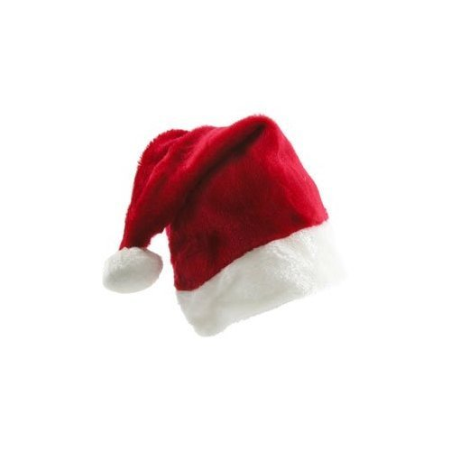 Santa Claus Hat is Plush Fuzzy and Fun! - http://coolthings.us