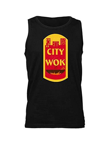 City Wok Historic CtPaTown Camiseta sin Mangas para Hombre Medium