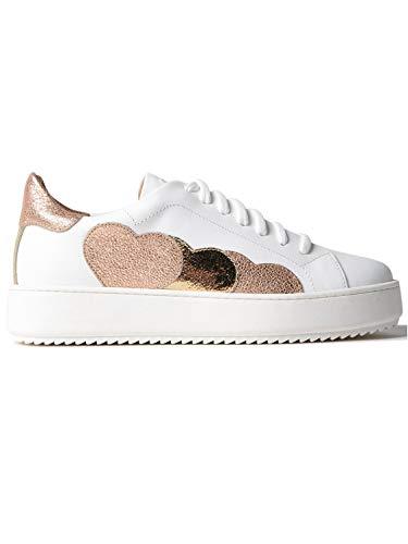 Sneakers Twin Set in Pelle Bianca CS8PJ7 00001 CS8PJ7 38