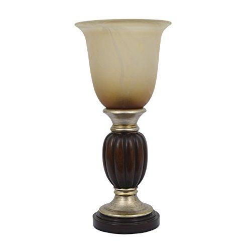 Décor Therapy TL7696 - Lámpara de techo (resina, 33 cm), color champán