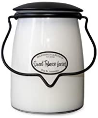 Milkhouse Candle Company Creamery Scented Soy Candle Butter Jar Candle Sweet Tobacco Leaves product image