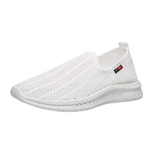 OPAKY Reef Calzado para Mar y Deportes Acuáticos, Unisex Adultos y Niños Zapatillas de Deporte Huecas de Malla Tejida Transpirable de Verano Zapatos sin Cordones Zapatillas de Deporte Casuales