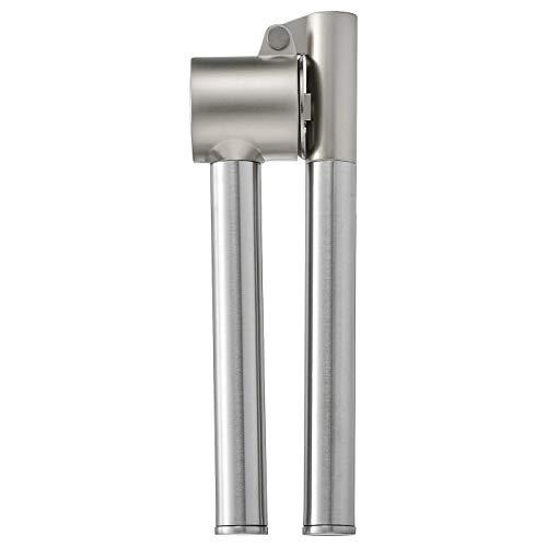 Knoblauchpresse, Produktgröße: Länge: 16 cm, Materialien: Edelstahl, Zink, gebürstet vernickelt