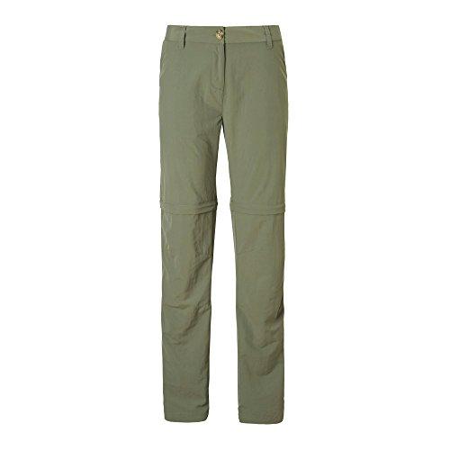 Craghoppers Mesdames NosiLife Détache Pantalon Souple Moss 18 Regular Leg