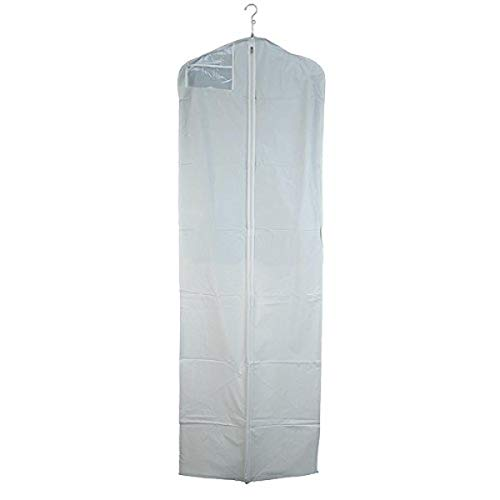 New Econoco WGS72 3 Gauge Vinyl Taffeta Finish Bridal Cover with Hanging Document Pocket, Center Zip...