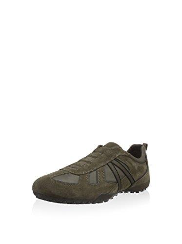 Geox Herren U Snake R Sneaker, Taupe/grau, 46 EU