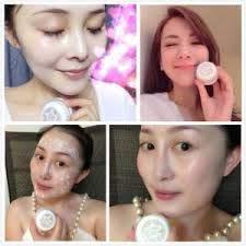 (Crema de noche) Singapur Crema facial blanqueadora Crema hidratante Crema antienvejecimiento Eliminación de pecas Crema blanqueadora para aclarar la crema Crema de bayas de Goji Reduce las arrugas Piel blanca y fina 30 g.