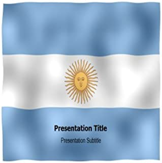 Argentina Animated Flag Powerpoint Templates - Argentina Animated Flag PPT Backgrounds and Slides