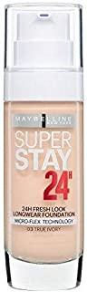 Maybelline Superstay24H Liquid Foundation 03 True Ivory