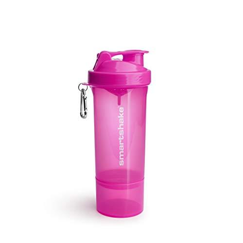 Smartshake Slim Neon Pink - 1 Paquete de 1 x 500 ml - Total: 500 ml