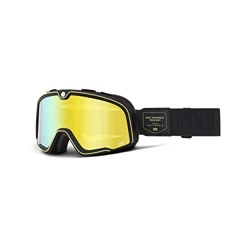 100% Unisex-Adult Barstow Sunglasses, Blitz Gelbe, Erwachsene