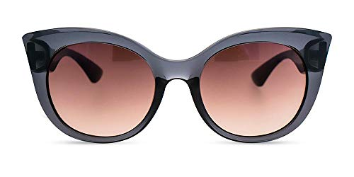MessyWeekend Thelma - Oversized Sunglasses for Women, Cateye Designer Sunglasses with UV400 Protection
