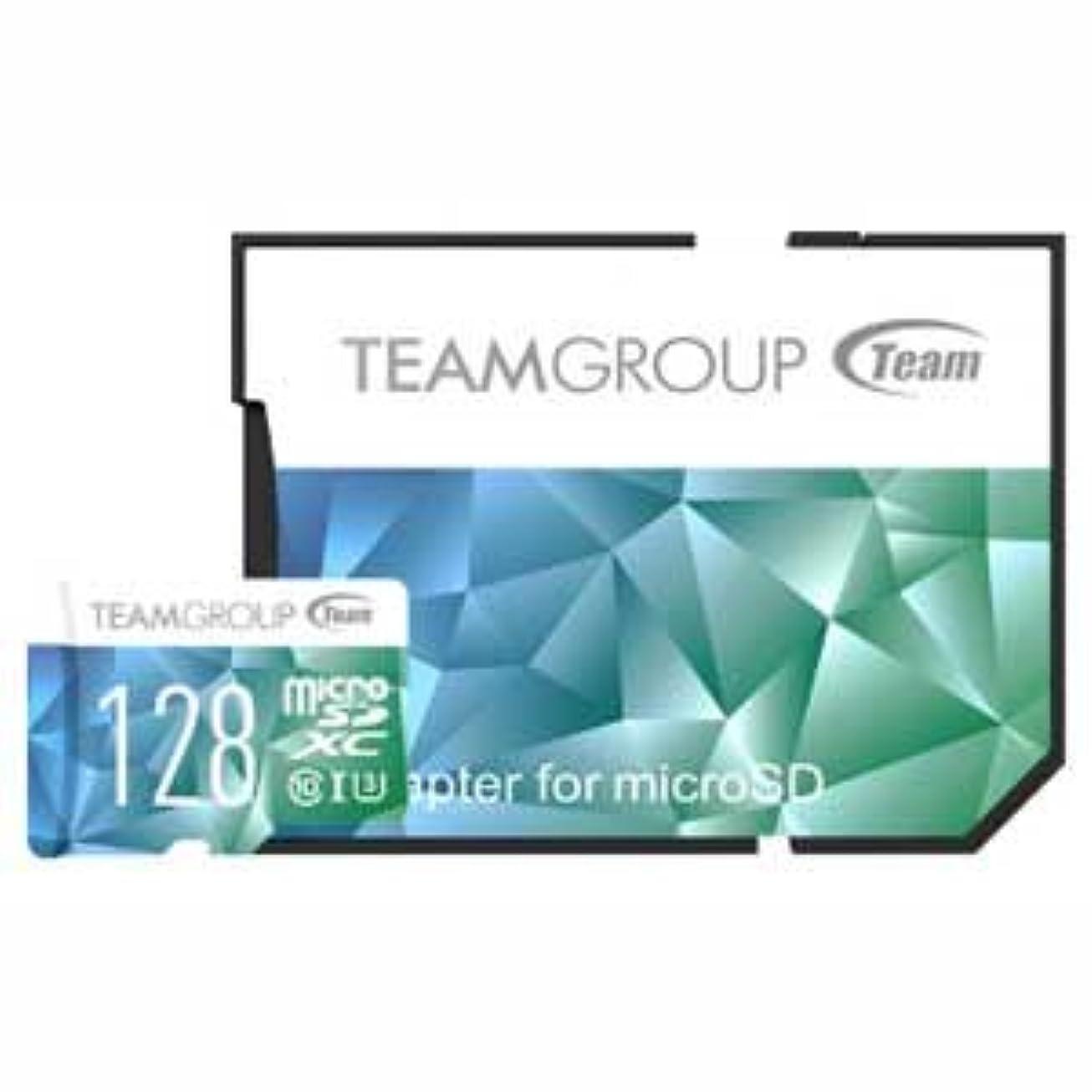 荷物味わう遊び場Team microSDXCメモリーカード 128GB Class10 UHS-IColor Card II TFCOXC128GU3