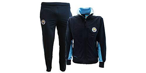 Manchester City Chándal réplica oficial talla 7-8 niño Chándal completo