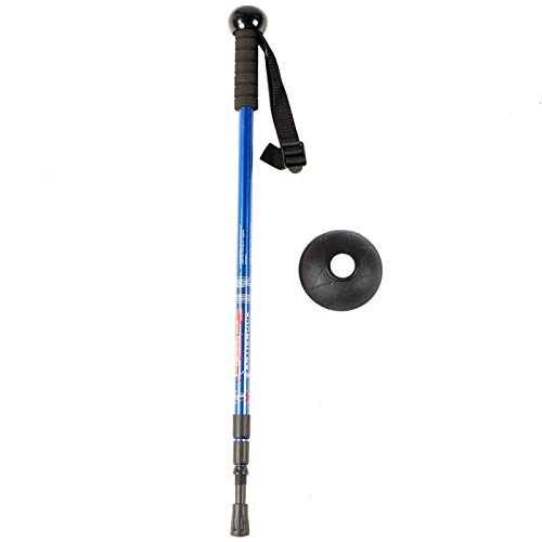 VIFERR Kamera Einbeinstativ Tragbare Outdoor Einstellbare Kamera Camcorder Einbeinstativ Kletterrohr Gehstock Alpenstock(Blau)