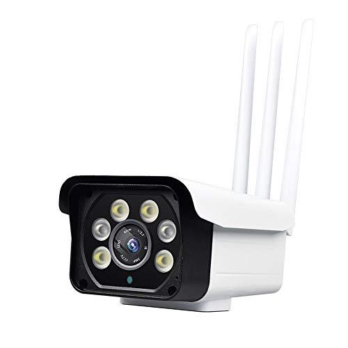 LIRONG 4G Draadloze Camera WIFI Outdoor Surveillance Netwerk Afstandsbediening Camera Waterdichte 3 Soorten Night Vision Mode Een Knop Schakelaar (2 Miljoen Pixels), 16G