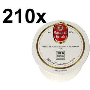 Reissdorf Kölsch Bierdeckel Untersetzer Aktion - 210 Stück (3x 70er Packung)