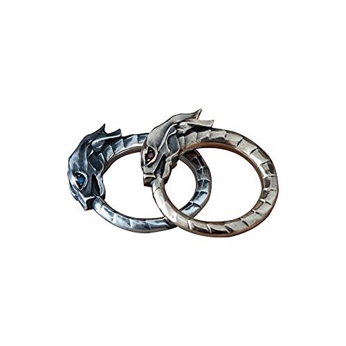 Ouroboros ring, uroborus, dragon ring, serpent ring, snake ring, ancient symbol mythology