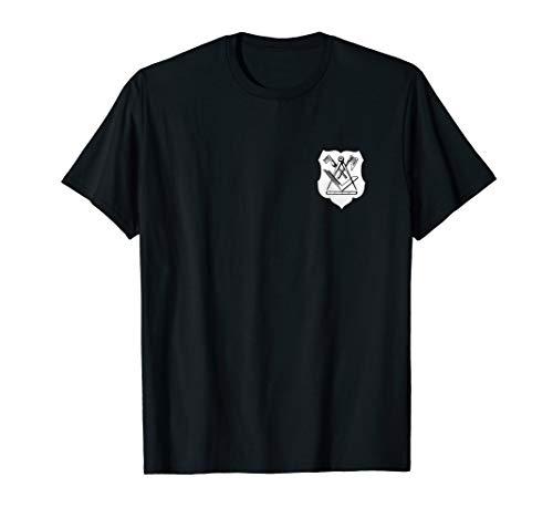 Zimmermann | Zimmerer Zunftwappen Auf Der Brust | T-Shirt