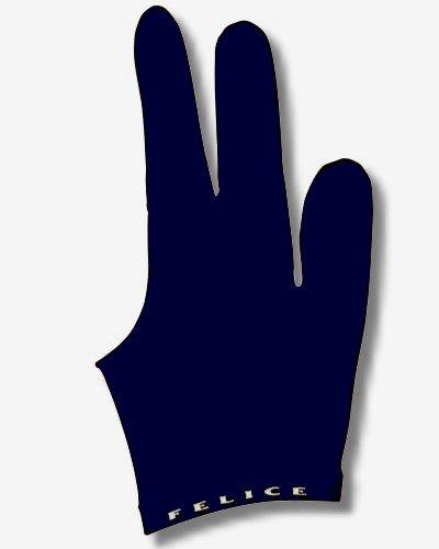 """Billard-Handschuh, FELICE """"DUNKELBLAU"""", für rechte und linke Hand, einer der beliebtesten Profihandschuhe aus den USA"""