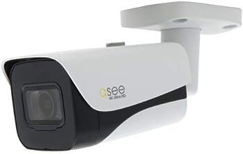 Q-See QCN8093B HD 4K IP POE Security Surveillance Camera w/Night Vision