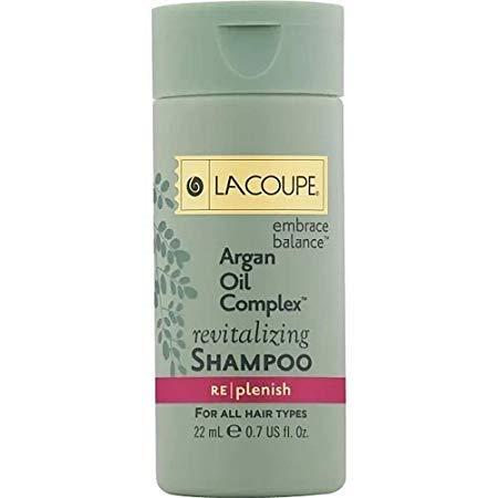 Lacoupe Argan Oil Complex Revitalizing Shampoo - 0.75 Oz - Set of 18 - Total 13.5 Oz