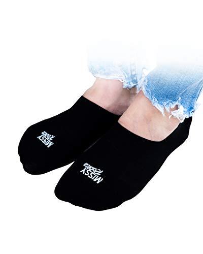 MISSY ROCKZ Sockz Rockz 3er Set schwarz/weiß, Größe:S-3er Set, Farbe:just Black