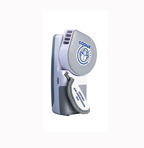 PINEsong Mini Tragbare Hand Held USB/Batterie Mini Klimaanlage Kühler Lüfter Luftkühler Mini Air Cooler Tragbarer Tischventilator USB Klimagerät für Büro, zu Hause, Camping (C)
