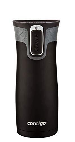 Contigo 507515 Westloop Autoseal Mug, Matte Black