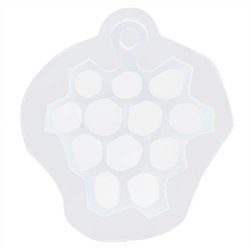 Caiqinlen Epoxi de Cristal, Silicona Antiadherente Reutilizable Multiusos para Hacer Galletas y pudines para pastelería