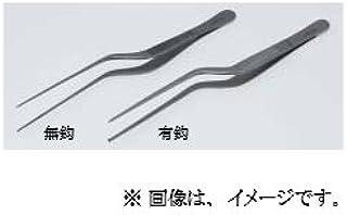 日本フリッツメディコ ルーツェ耳用 ピンセット 14cm 有鈎 A376-4417