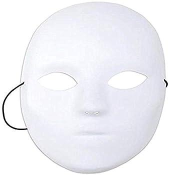 Mask It 71001 Full Female Mask 8-1/2-Inch White