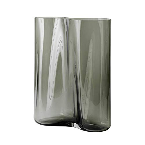 Menu AER Vase H 33cm, Rauch LxBxH 27x13x33cm
