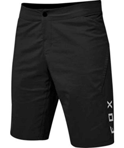 Fox Racing Ranger - Pantalones cortos de ciclismo para hombre, talla 42, color negro